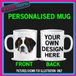 ST BERNARD BEETHOVEN  PET DOG MUG BIRTHDAY GIFT